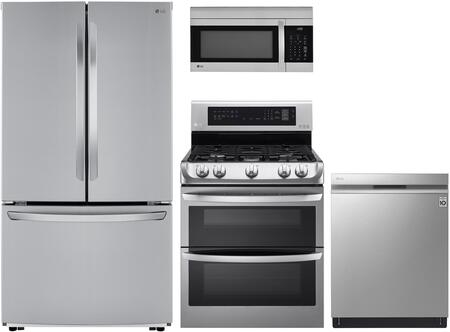 LG 1101317 Kitchen Appliance Package & Bundle Stainless Steel, main image