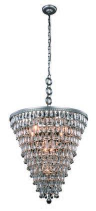 Elegant Lighting 1219D24ASRC Ceiling Light, Image 1