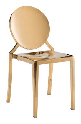 Zuo Eclipse 100553 Dining Room Chair Yellow, 100553 1
