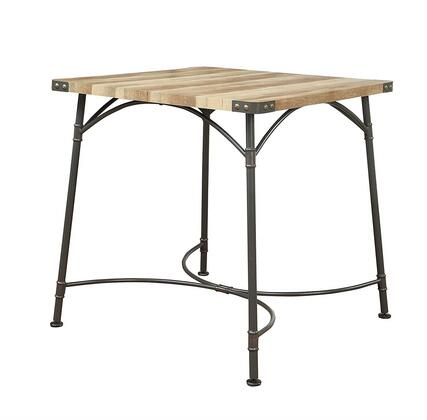 Acme Furniture Itzel 72085 Bar Table Brown, Counter Height Table