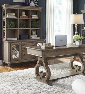 Liberty Furniture Simply Elegant 412HOJ3DH Desks and Hutches Brown, Main view 1