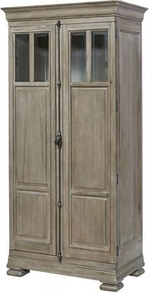 Reprise Collection 581A160 38″ Tall Cabinet with Adjustable Shelves  Two Doors and Two Deep Tray Drawers in