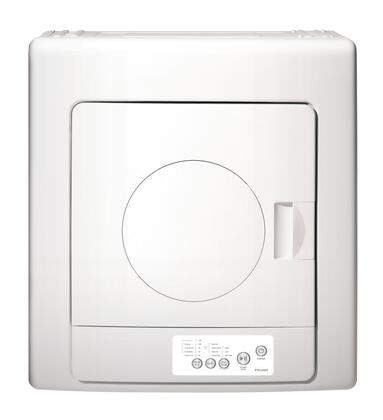 Haier HLP141E Electric Dryer White, FrontView