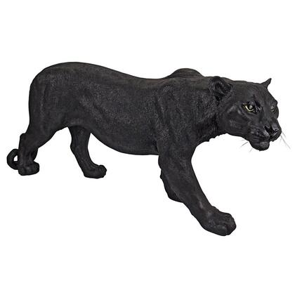 JQ4019 Large Shadowed Predator Black Panther In