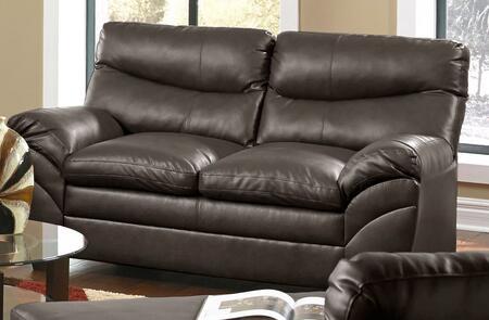 Lane Furniture SoHo 951502SOHOESPRESSO Loveseat Brown, Main Image