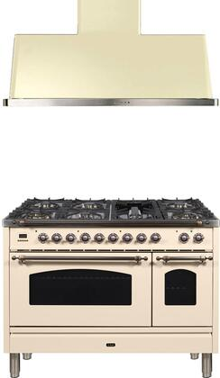 Ilve  1312603 Kitchen Appliance Package White, Main Image