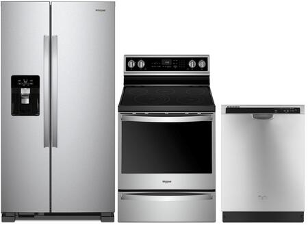 Whirlpool 1009995 Kitchen Appliance Package & Bundle Stainless Steel, main image