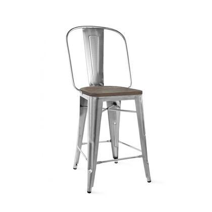Design Lab MN Dreux LS9111GUNW Bar Stool Gray, c437c559 881d 4282 8536 d8db7d0f594f