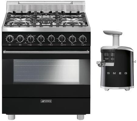 Smeg 891094 Kitchen Appliance Package & Bundle Black, 1