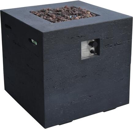 OFG302BK-LP Ellington Fire Table with 40000 BTUs Heat Output  Electronic Ignition with Auto Safety Shut-Off  in Matte
