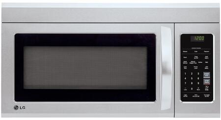 LG  LMV1831ST Over The Range Microwave Stainless Steel, Main View