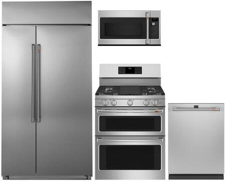 Cafe  1072554 Kitchen Appliance Package Stainless Steel, Main image