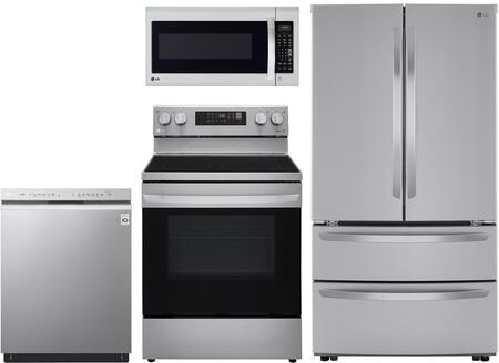 LG 1222947 Kitchen Appliance Package & Bundle Stainless Steel, Main image
