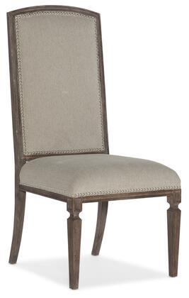 Hooker Furniture Woodlands 58207541284 Dining Room Chair Beige, Silo Image