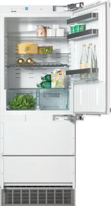Miele  KFN9855IDERE Bottom Freezer Refrigerator Panel Ready, KFN9855IDERE 30-Inch Bottom Mount Refrigerator