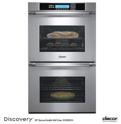 Dacor Discovery EO230SCH Double Wall Oven Stainless Steel, 1