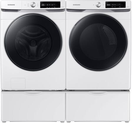 Samsung  1496778 Washer & Dryer Set White, 1