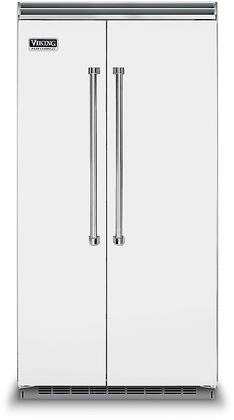 Viking 5 Series VCSB5423FW Side-By-Side Refrigerator White, VCSB5423FW Side-by-Side Refrigerator
