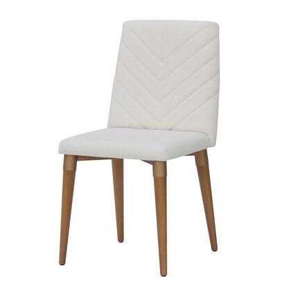 Manhattan Comfort Utopia 109251 Dining Room Chair Beige, 109251 A