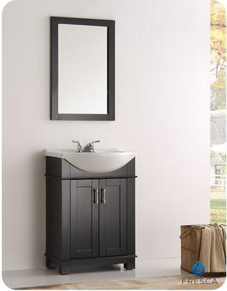 Fresca Hartford FVN2302BLCMB Sink Vanity Black, Main Image