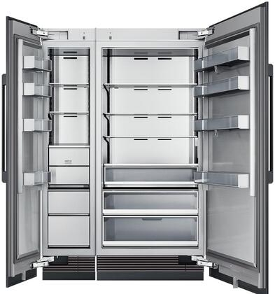 Dacor Contemporary 865512 Column Refrigerator & Freezer Set Panel Ready, Custom Panels and Handles not Included