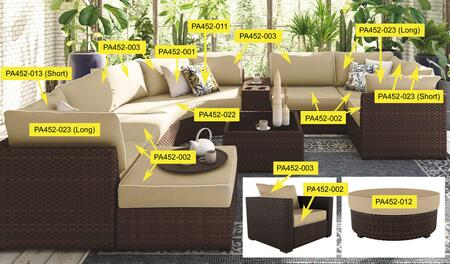 Signature Design by Ashley Spring Ridge PA452002 Cushion Option Beige, Main Image