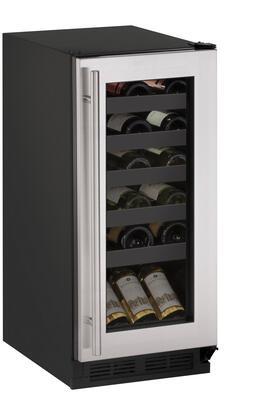 U-Line Wine Captain 1000 U1215WCS00B Wine Cooler 25 Bottles and Under Stainless Steel, Main Image
