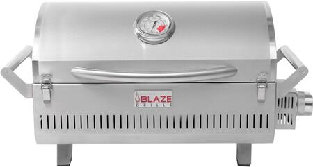 """BLZ-1PRO-PRT-LP Professional """"Take It or Leave It"""" Portable Grill with Flame Thrower Ignition  Cast Stainless Steel H Burner  2 Front Facing Lock  in"""