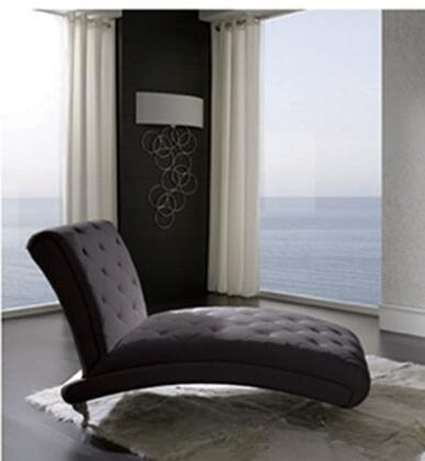 ESF Nelly I935 Chaise Lounge Black, Main Image