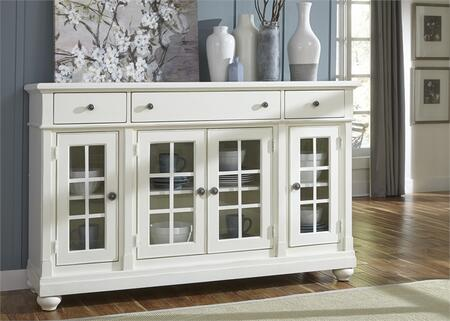Liberty Furniture Harbor View II 631CB6642 Dining Room Buffet White, Main Image