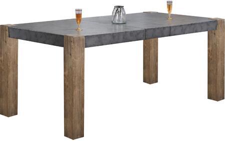 Acme Furniture Paulina II 74665 Dining Room Table Gray, 1