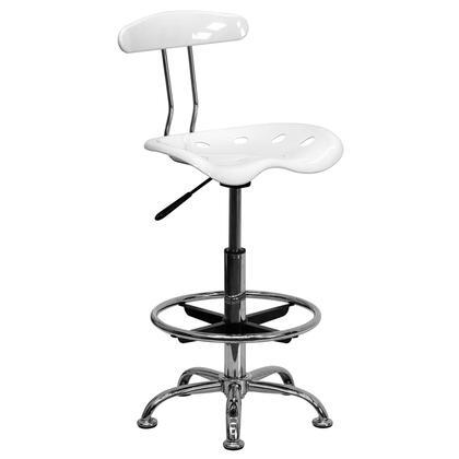 Flash Furniture  LF215WHITEGG Office Chair White, 1