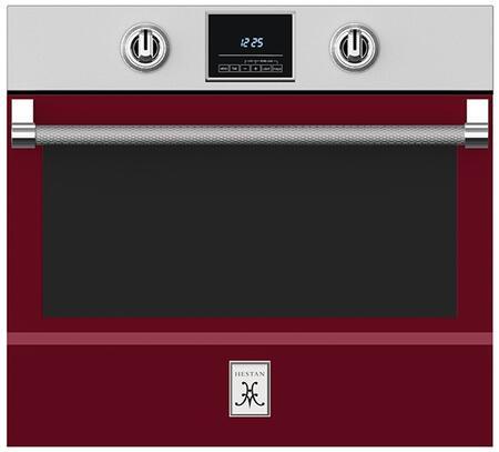 Hestan  KSO30BG Single Wall Oven Red, 1