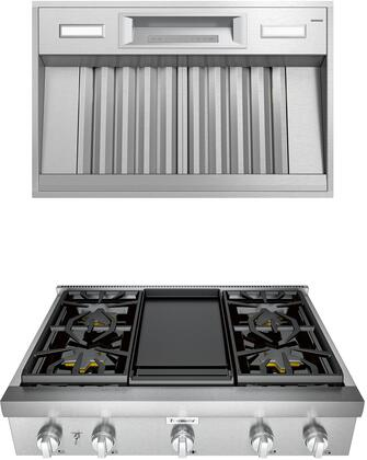 Thermador Professional 1072264 Kitchen Appliance Package Stainless Steel, main image