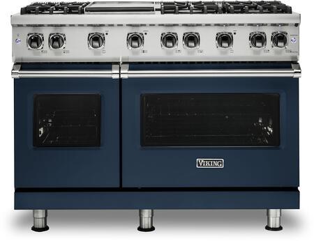 Viking 5 Series VGR5486GSB Freestanding Gas Range Blue, VGR5486GSB Gas Range