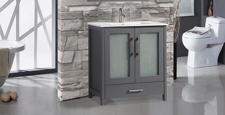 Argentina Collection MTD-1030G 30″ Single Sink Bathroom Vanity Set in