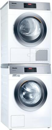 Miele Little Giants 1310873 Washer & Dryer Set White, Main image