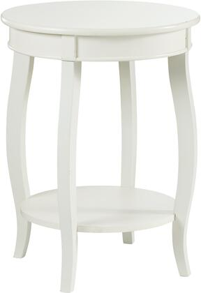 Powell Miscellaneous Occasional 929351 End Table White, Main Image