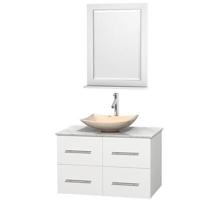 Wyndham Collection WCVW00936SWHCMGS5M24 Sink Vanity, image 1