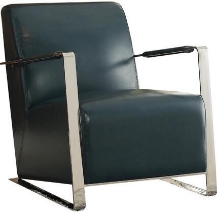 Acme Furniture Rafael 59780 Accent Chair Blue, Accent Chair