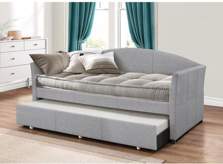 Hillsdale Furniture Westchester 2019DBTG Bed Gray, Main Image