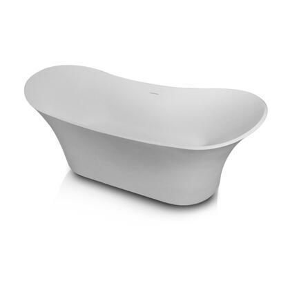 Valley Acrylic Affordable Luxury Mem Collection IZAWHT Bath Tub, Main Image
