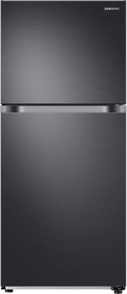 Samsung RT18M6213SG Top Freezer Refrigerator Black Stainless Steel, Main Image