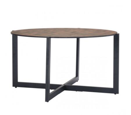 Zuo Hastings 101073 Coffee and Cocktail Table Black, 101073 Front