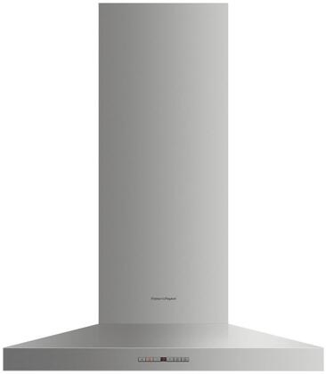 Fisher Paykel HC30PHTX1N Wall Mount Range Hood Stainless Steel, Front view
