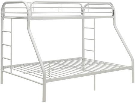 Acme Furniture Tritan 02052WH Bed White, 1