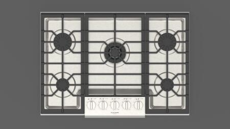 F5PGK305S1 30″ Sofia Professional Gas Cooktop with 5 Sealed Aluminum Burners  Continuous Heavy Duty Grates  in Stainless