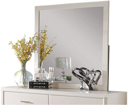 Acme Furniture Tyler 22544 Mirror White, 1