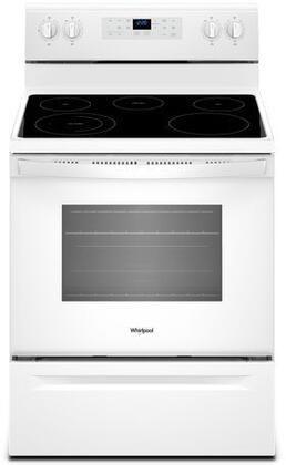 Whirlpool WFE505W0HW Freestanding Electric Range White, Main Image