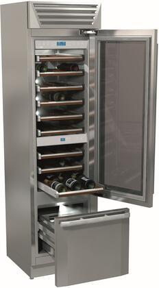 Fhiaba StandPlus FM24BWRRGS Wine Cooler 51-75 Bottles Stainless Steel, Main Image